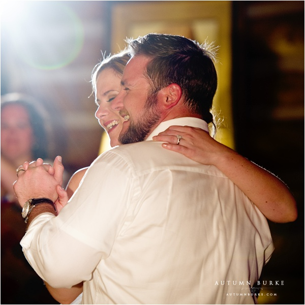 colorado wedding first dance keystone ranch