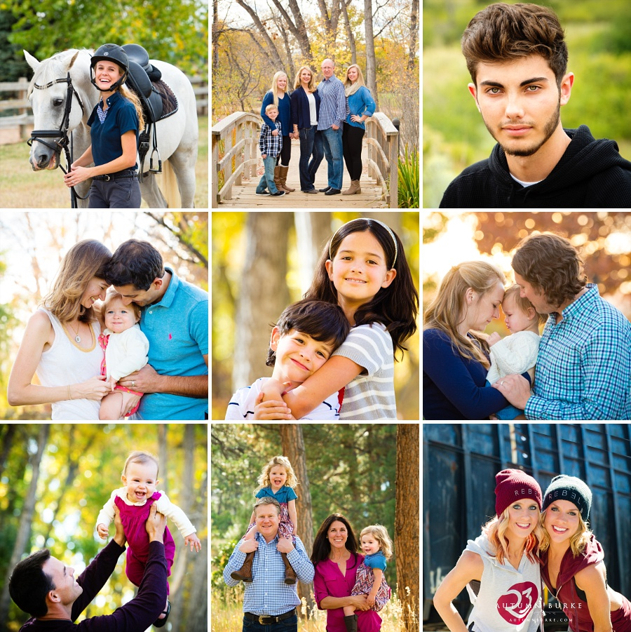family portraits colorado kids senior portrait outdoors commercial denver photography