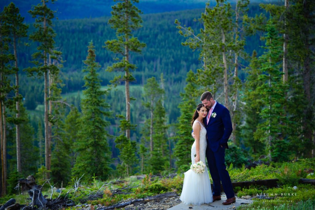 winter park lodge at sunspot colorado mountain wedding