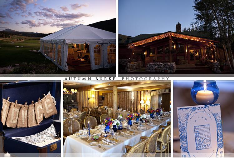 Keystone Ranch Wedding Colorado Vintage Mountain Details