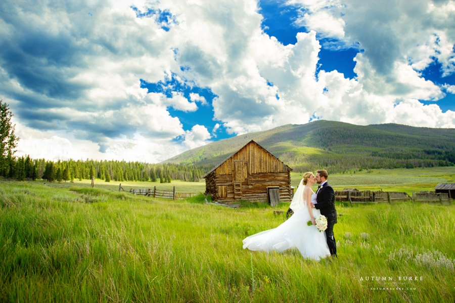 Keystone Ranch Colorado Mountain Wedding Rustic Barn Mountains